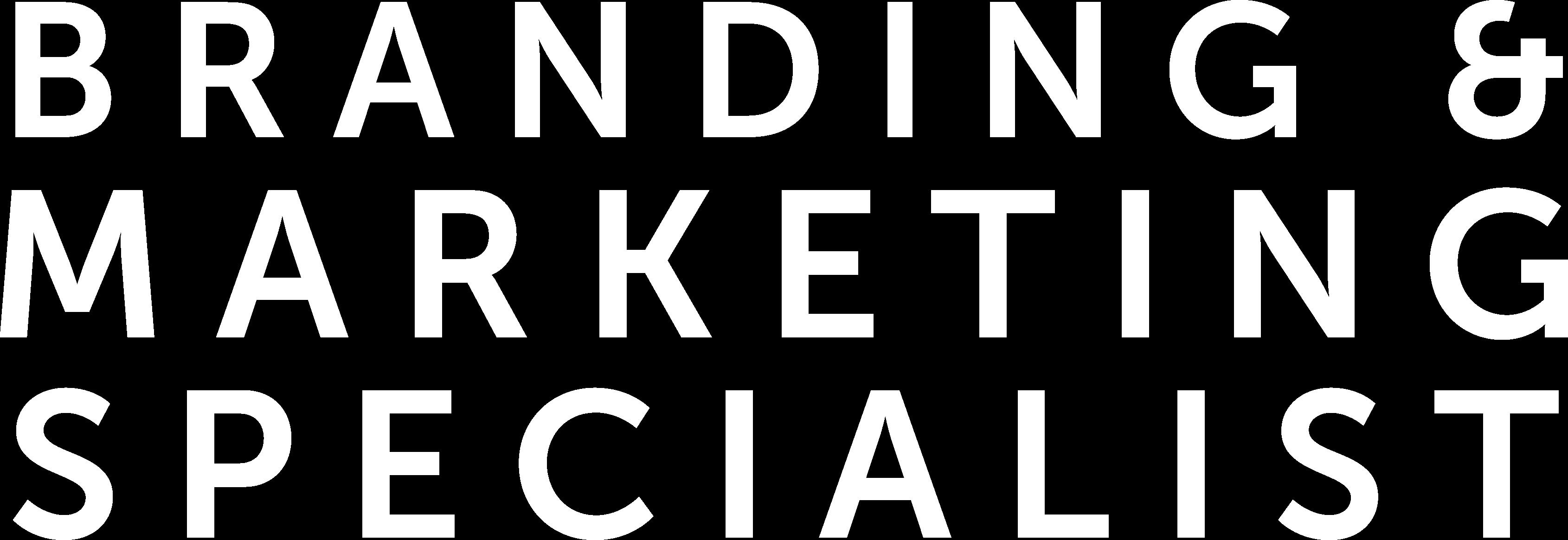 Branding marketing specialist